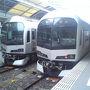 ●快速マリンライナー@JR高松駅  久しぶりのマリンライナー。 久しぶりのJR高松駅。 四国に帰ってきました!
