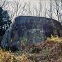 益田岩船の側面