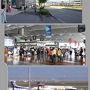 駐車場は東横インの中部国際空港パーキング、空港駐車場は1日1500ですが、こちらは800円です。  国内線に乗るのは20年以上ぶり、チェックインで家から印刷していった用紙には、予約ナンバーやバーコードが無かったので少しもたついたが、娘からのメールで送られてきたバーコードで無事チェックイン、タイの空港でパスポートを出して、ノーチケットって言ったら、スムースに搭乗券を作ってくれたのに、国内線って面倒。  遠くにアイベックスのボンバルディアが見えます。
