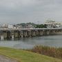 ●山国橋  橋の奥は、福岡県。