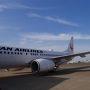さて、GW1日目!よい天気です! 今日も羽田で JALが光ってます!よろしくお願いします!