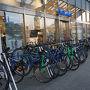 ●JR今治駅  しまなみ用の自転車でしょうね。