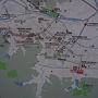 ●内子地図@JR内子駅  いつも車で内子を通るだけなので、街歩きは初めてです。