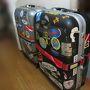 出発前のいつもの光景。 2人分のダイビング器材は意外にかさばる。 最大サイズのスーツケース2つはいつも事前に定宿へ。