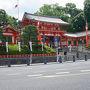 ●八坂神社  只今、祇園祭真っ最中。 八坂神社へやって来ました。