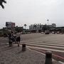 台南駅まで歩き、駅前のバス停より大台南公車の99路線バスに乗り鹿耳門天后宮を目指します。台南のバスも悠遊カードで乗車可。便利ですね。