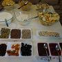 ●朝食@ムーンガーデンアートホテル  ビルニュス2日目の朝です。 朝食を。
