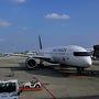 エアーカナダで成田を出発します。