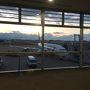 2016/12/29 スカイマークで福岡空港を出発〜(^^)v