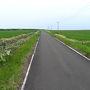 サフォークを見るのを十分堪能してから、再び走り出します。 このだだっぴろい空間が北海道らしい。小さな離島だけど北海道なのです。