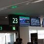 7時55分羽田空港発小松空港行きの飛行機で出発