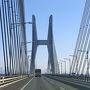 2週間続けて週末に台風が来ましたが今日は天気最高です!  半年前から予約していた高知のヴィラサントリーに車で向かいます。  岡山から瀬戸大橋を渡って高松道、高知道を通り高知の土佐ICまでちょうど3時間かかります。  瀬戸大橋を順調に走っています。