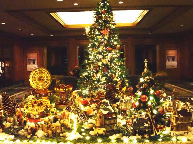ステキな一夜を。東京&横浜でクリスマスツリーが美しいホテル10選