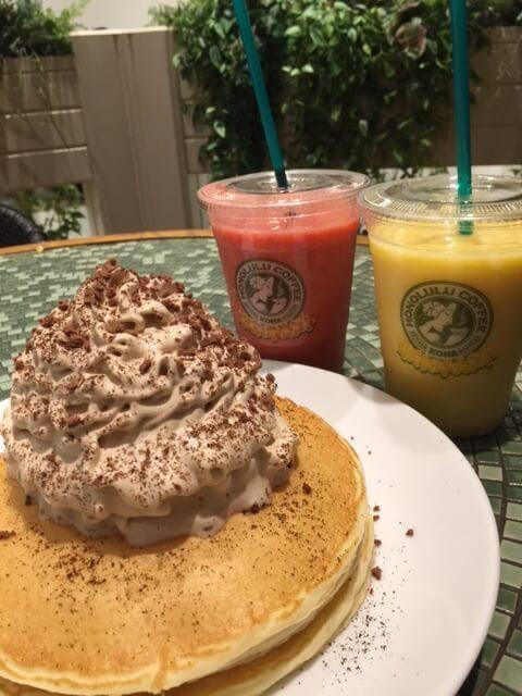 ホノルルコーヒー ダイバーシティ東京プラザ店