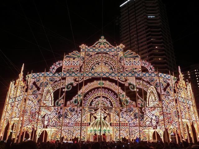 【11位】神戸ルミナリエ
