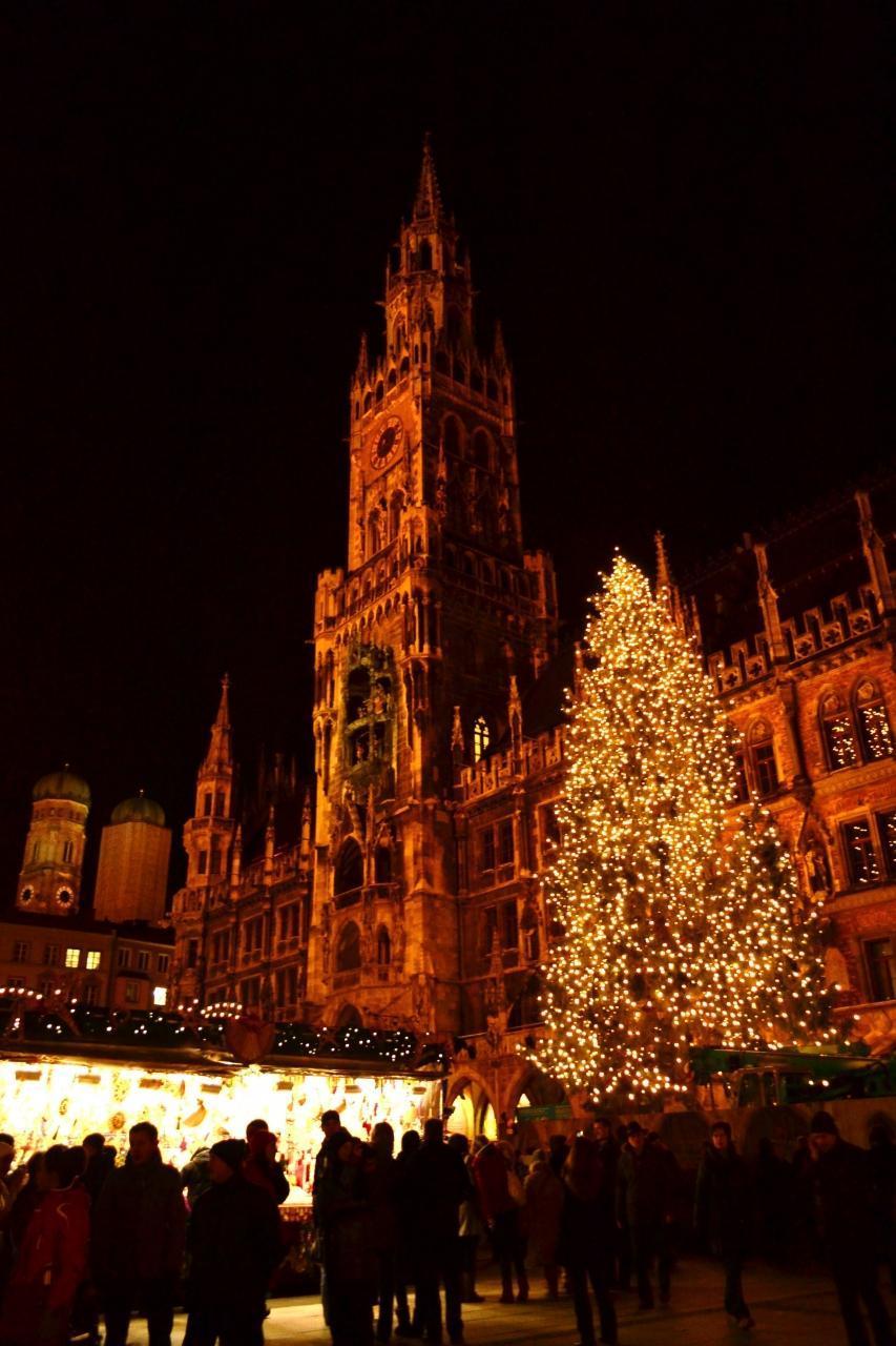 【4位】ミュンヘンのクリスマスマーケット