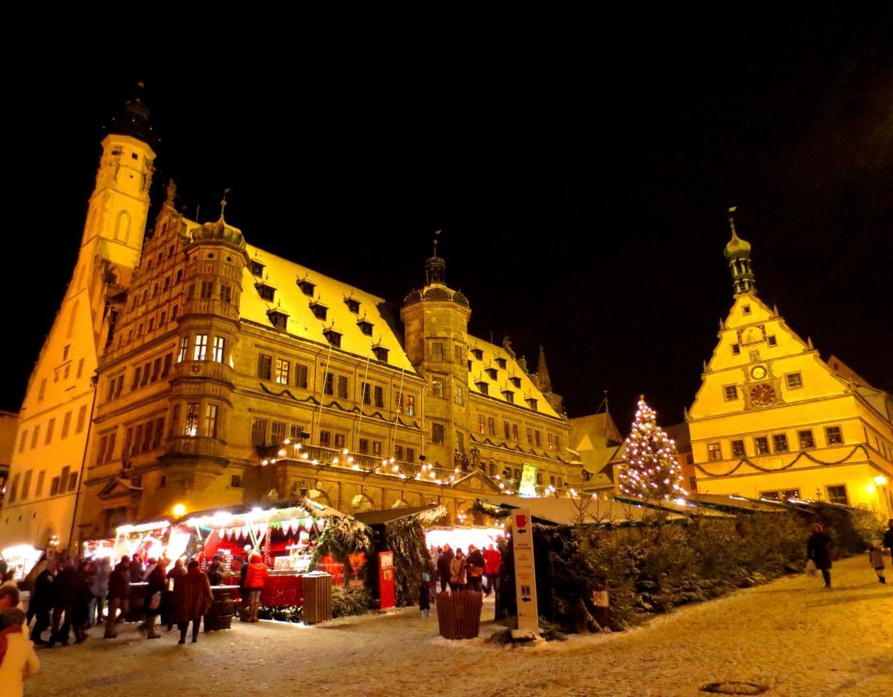 【7位】ローテンブルクのクリスマスマーケット(ライターレスマルクト)