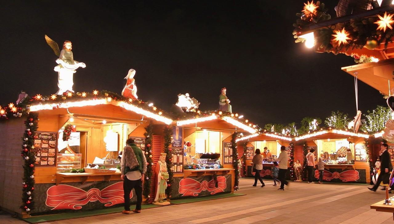 東京ソラマチのクリスマスマーケット(ソラマチ クリスマスマーケット 2015)