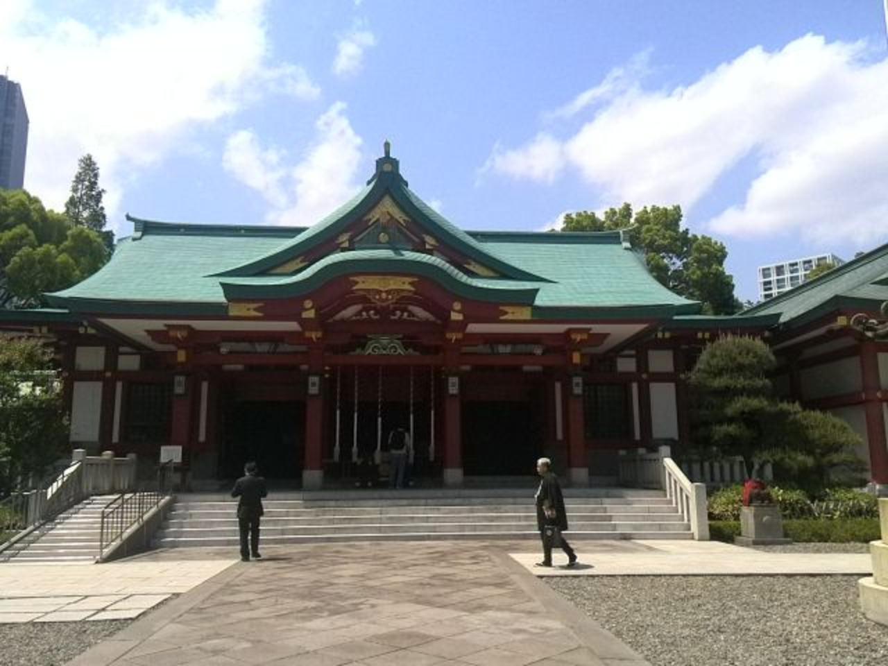 【11位】赤坂氷川神社 / 赤坂