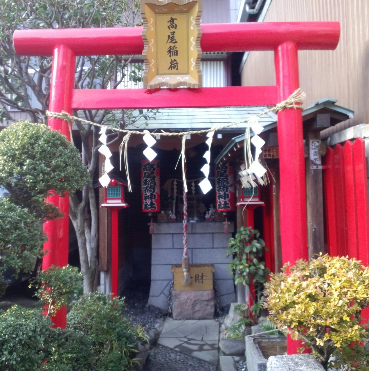 【17位】高尾稲荷神社 / 日本橋