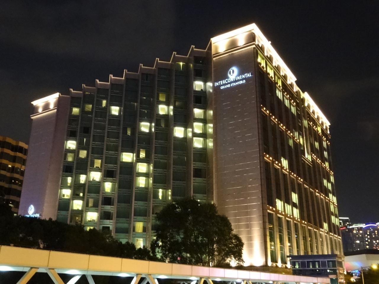 【10位】インターコンチネンタル グランド スタンフォード香港 (海景嘉福酒店)