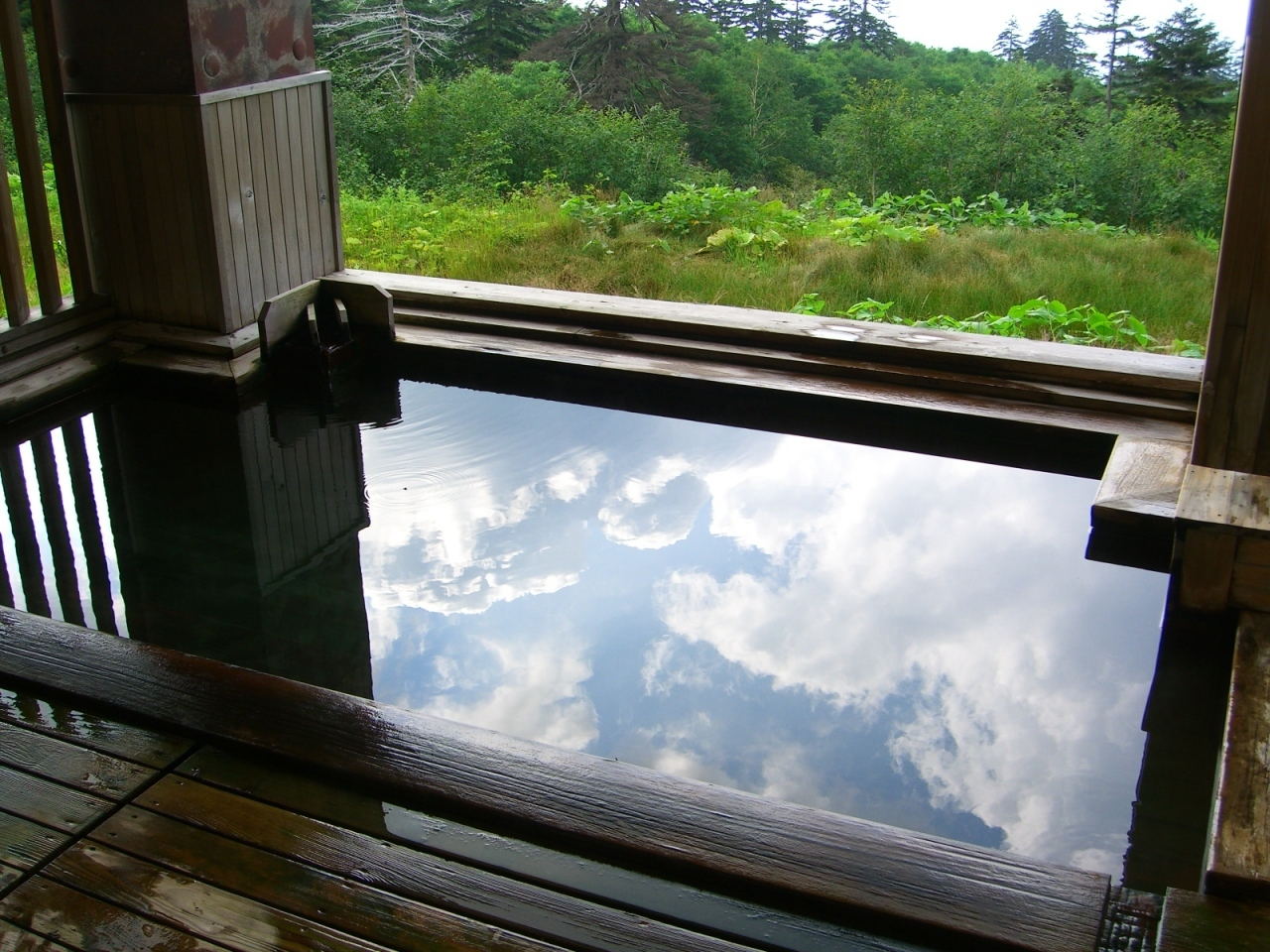 十勝岳温泉 カミホロ荘 / 北海道